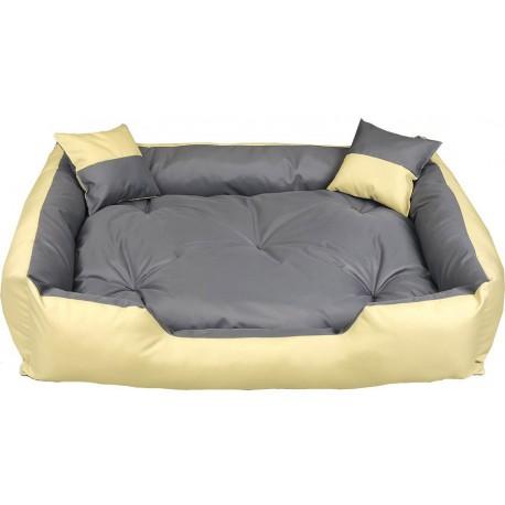 Legowisko dla psa kanapa 100 X 80 + 2 poduszki 4 w 1