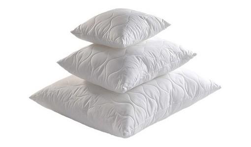 Zestaw pikowanych poduszek antyalergicznych