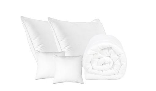 Kołdra letnia bawełna + 4 poduszki