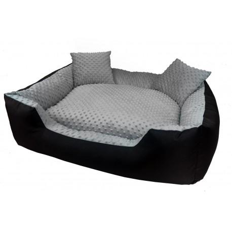 Ekskluzywne legowisko MINKY 75 x 65 + 2 poduszki