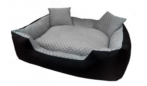 Ekskluzywne legowisko MINKY 100 x 75 + 2 poduszki