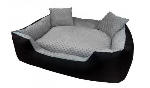 Ekskluzywne legowisko MINKY 115 x 95 + 2 poduszki