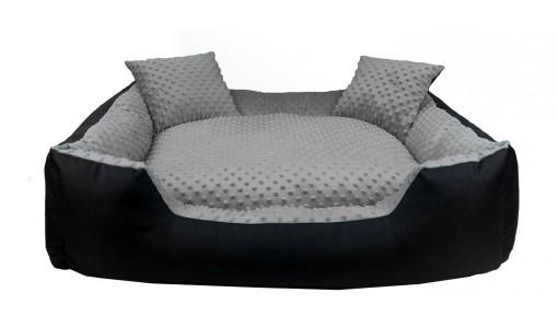 Ekskluzywne legowisko MINKY 130 x 105 + 2 poduszki