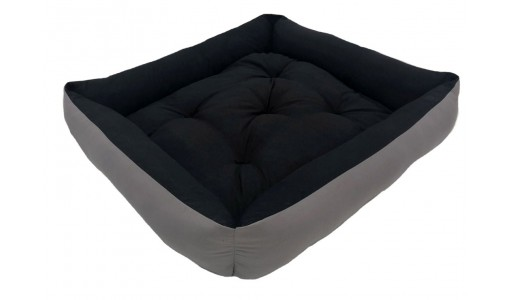 Materiałowe legowisko poduszka ponton 75 X 65 cm 2w1