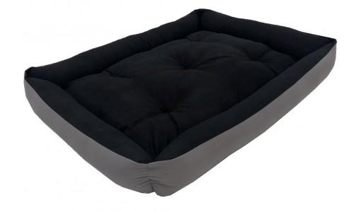 Materiałowe legowisko poduszka ponton 115 X 95 cm 2w1