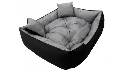Wodoodporne legowisko dla psa kanapa 115 X 95 + 2 poduszki