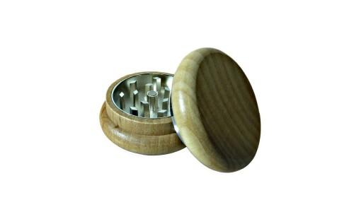 Młynek drewniano-metalowy