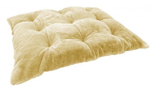 Legowisko poduszka ze sztucznego futra RABBIT 80x60cm kolor beżowy