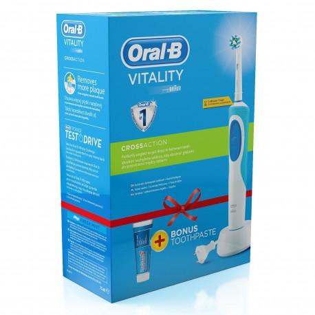 Szczoteczka elektryczna Oral-B Vitality Cross Action + pasta