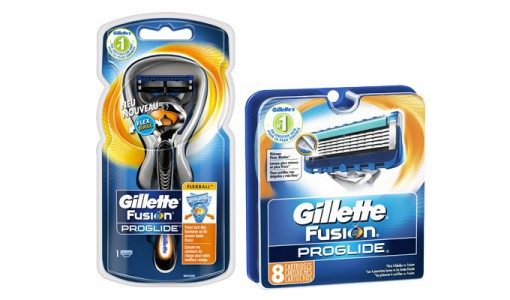Maszynka Gillette Proglide FLEXBALL + ostrza Zestaw prezentowy.