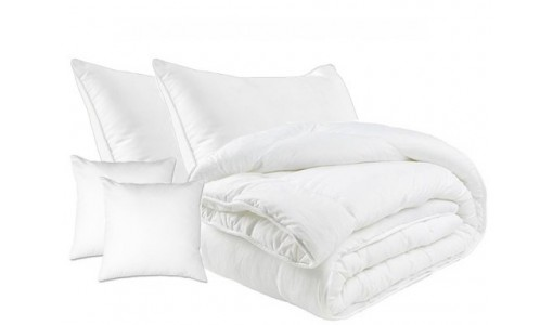 Kołdra całoroczna bawełna + 4 poduszki