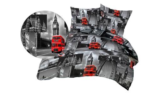 Kołdra zimowa Londyn bawełna + 4 poduszki