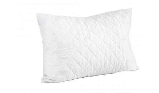 Poduszka pikowana z wypełnieniem silikonowym 50x60cm