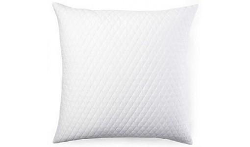 Poduszka pikowana z wypełnieniem silikonowym 50x50cm