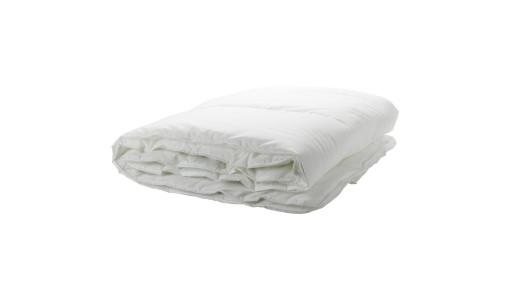 Kołdra letnia z bawełny 140x200cm kolor biały