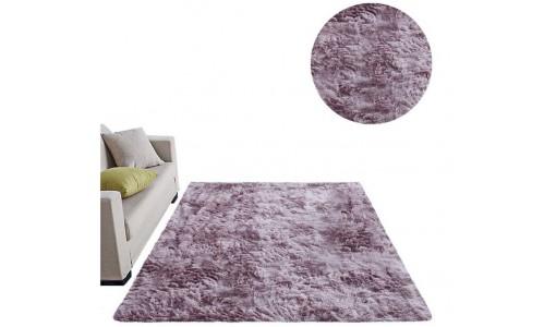 Pluszowy mięciutki dywan Shaggy Tiffany 80x160cm kolor różowy