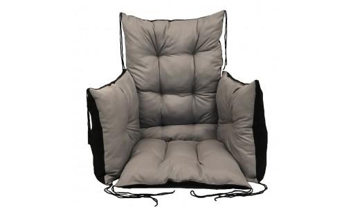 Poduszka na krzesło ogrodowe 50x50x80 cm + 2 x 40x40 cm