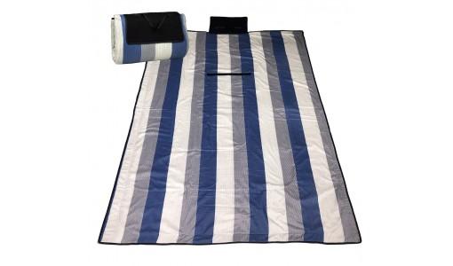 Koc piknikowy, plażowy, biwakowy 150x200 cm gruby nr7