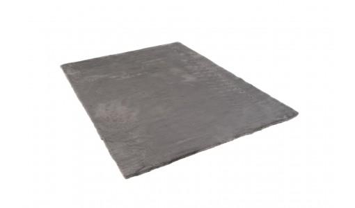 Pluszowy mięciutki dywan VELVET BUNNY 80x160cm kolor szary