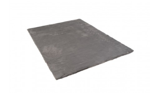 Pluszowy mięciutki dywan VELVET BUNNY 120x160cm kolor szary
