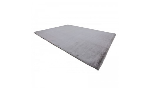 Pluszowy mięciutki dywan VELVET BUNNY 80x160cm kolor jasnoszary
