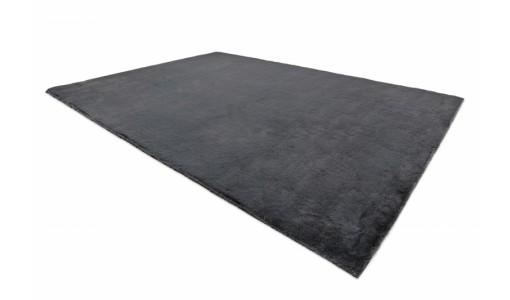 Pluszowy mięciutki dywan VELVET BUNNY 100x160cm kolor czarny
