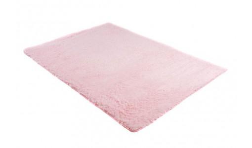 Pluszowy mięciutki dywan VELVET BUNNY 80x160cm kolor pudrowy róż