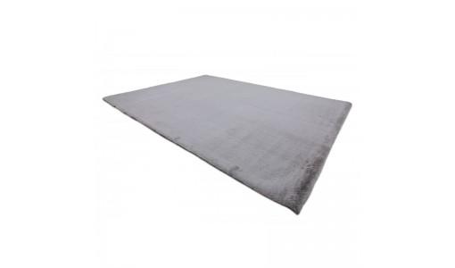 Pluszowy mięciutki dywan VELVET BUNNY 100x160cm kolor jasnoszary