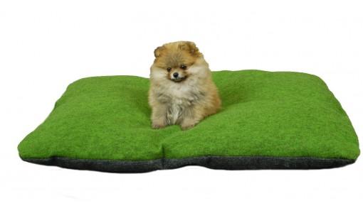 Legowisko dla psa poduszka 85 X 60 (zielone)