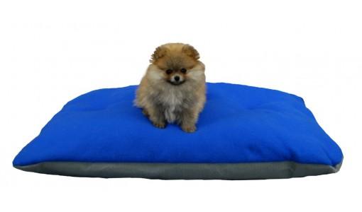 Legowisko dla psa poduszka 45 X 55 (niebieskie)