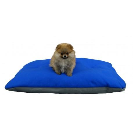 d5946d20a08159 Legowisko dla psa poduszka 60 X 50 (niebieskie) - Szperacze.pl