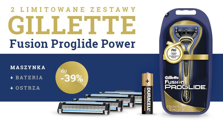 Limitowane zestawy Gillette do -39% taniej